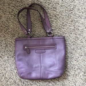 Purple coach purse!